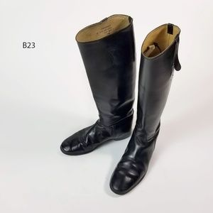 Ladies IMPERIAL Leather Tall Black EquestrianBoots